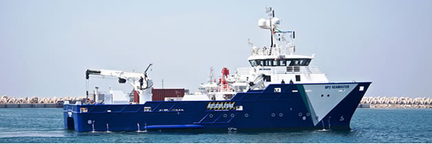Offshore ROV, Vessel, Workboat, or Ship Supply, Hire, or Charter